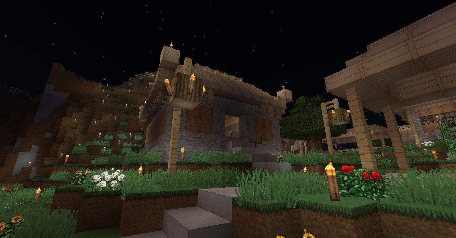 Projet village asiatique. 084ba082-e47d-44a9-a6f2-f6be4c7405dc