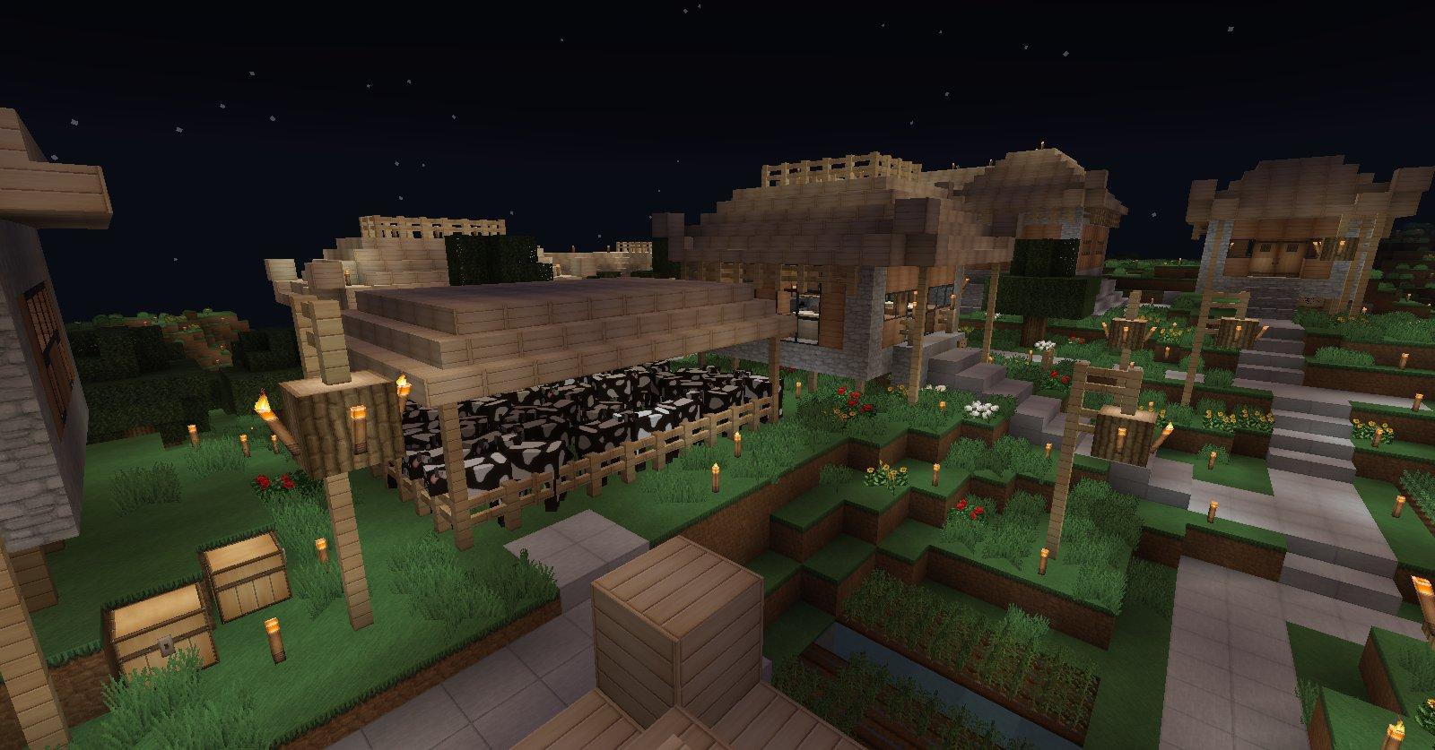 Projet village asiatique. 22b784f1-e005-44dd-917b-391ff22ce6e1