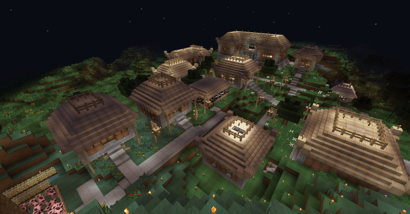 Projet village asiatique. 5deacf7a-33ca-493d-a904-9cb999b1b04f