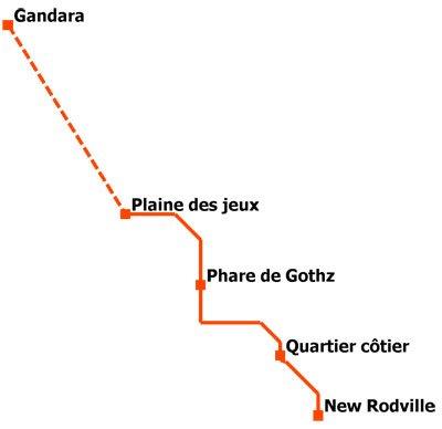 Premier métro New Rodville 6b2c3112-6701-4247-a446-65b6e7f6cb00