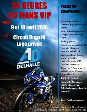 24 Heures du Mans avec Anthony DELHALLE, pilote du SERT, #1... E3a0f8f4-2f6c-4d52-a8a1-ba1f79d935fb