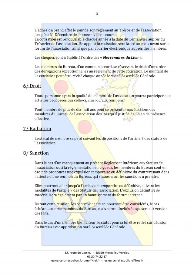 Reglement de l'Association Af32918d256b3fdff3aad07399591ec4.md