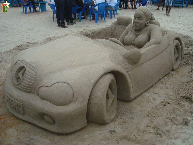 Les statues de sable  - Page 3 En-voiture-de-Bob-Attisso