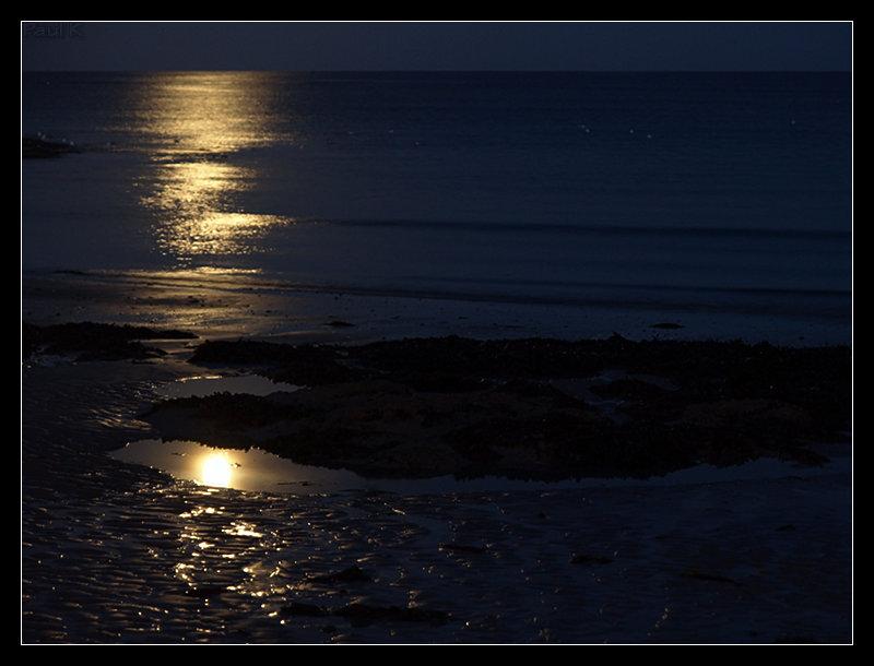 Pleine lune, marée descendante à L'Ile-Tudy Image9
