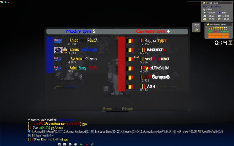 Play off - QF 2 : Australia&NZ vs Belgium, 2/12, 11:00 CET Anz_be3