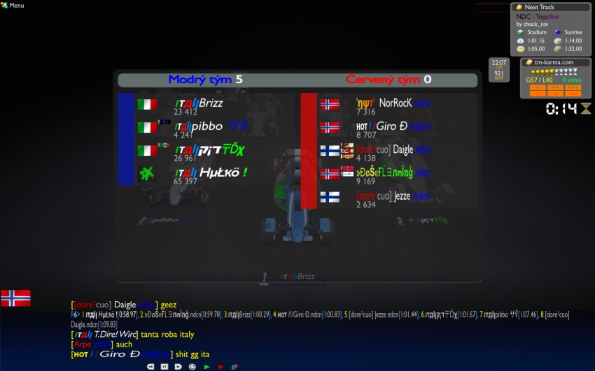 Group B - Week1 - Italy vs Nordic 12/11 21:30 CET It_no2