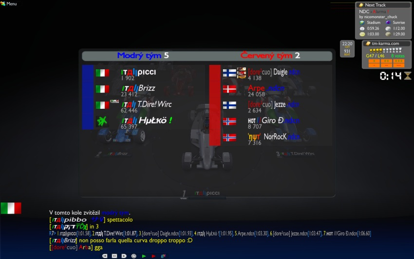 Group B - Week1 - Italy vs Nordic 12/11 21:30 CET It_no3