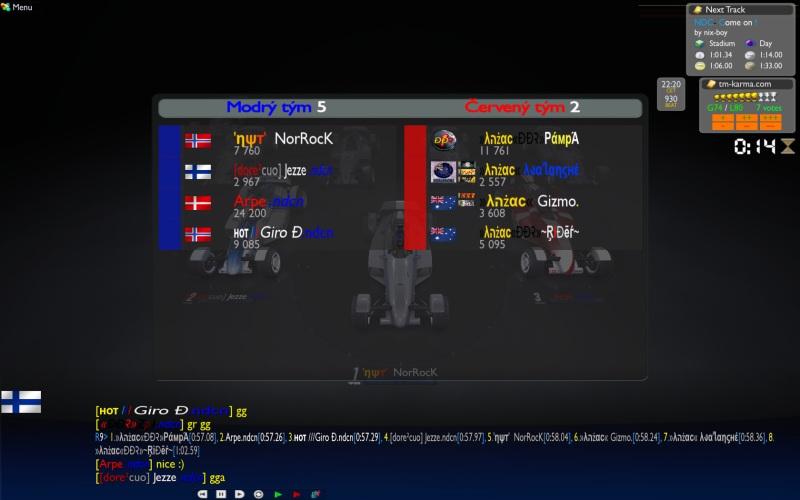 Group B Week 2 : Nordic vs Australia &NZ, 17/11 -  22:00 CET Nor_anz1