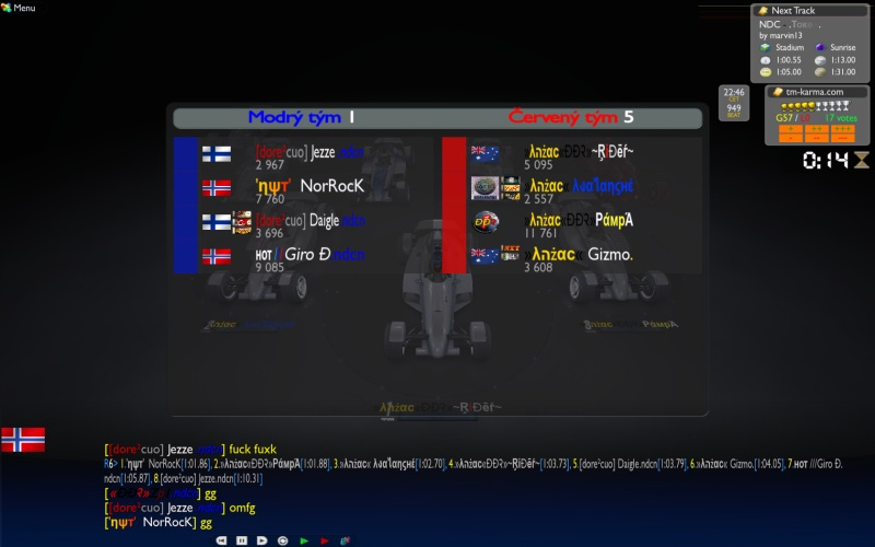 Group B Week 2 : Nordic vs Australia &NZ, 17/11 -  22:00 CET Nor_anz3