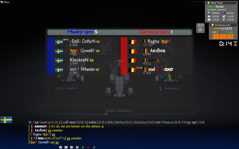 Group C Week 3 : Sweden vs Belgium, 25/11 - 20:00  CET Swe_be1
