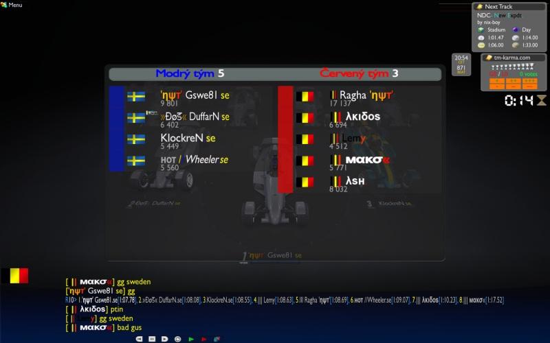Group C Week 3 : Sweden vs Belgium, 25/11 - 20:00  CET Swe_be3