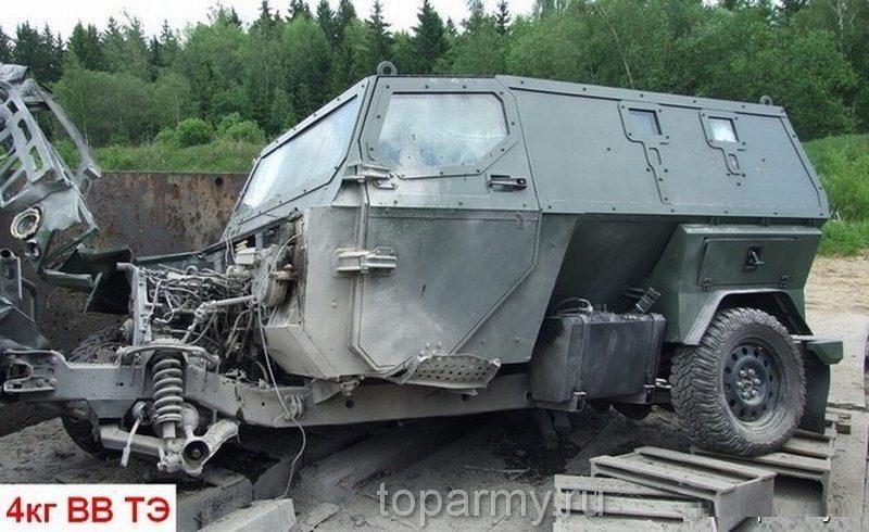 Infantry Mobility Vehicles - Page 7 Mashina_posle_vzryva_chetyrekh_kilogramm_trotila