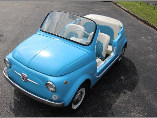 2015 - [Fiat] 500 Restylée - Page 22 1971-fiat-500-jolly-replica-4-speed-manual-1