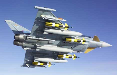 اقوى اربع مقاتلات فى العالم  Eurofighter