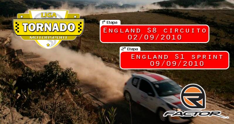 Copa Tornado Motorsport de Rally Banner