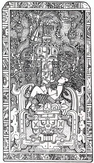 Pacal Votan (603 - 683 ap. JC) PacalVotansTombLid