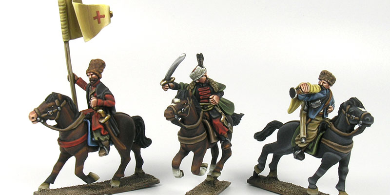 Totentanz Miniatures Cossack-command