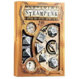 DICE : Collections de dés JDR  : modèles, conseils, adresses - Page 6 7-des-metal-multifaces-style-steampunk-