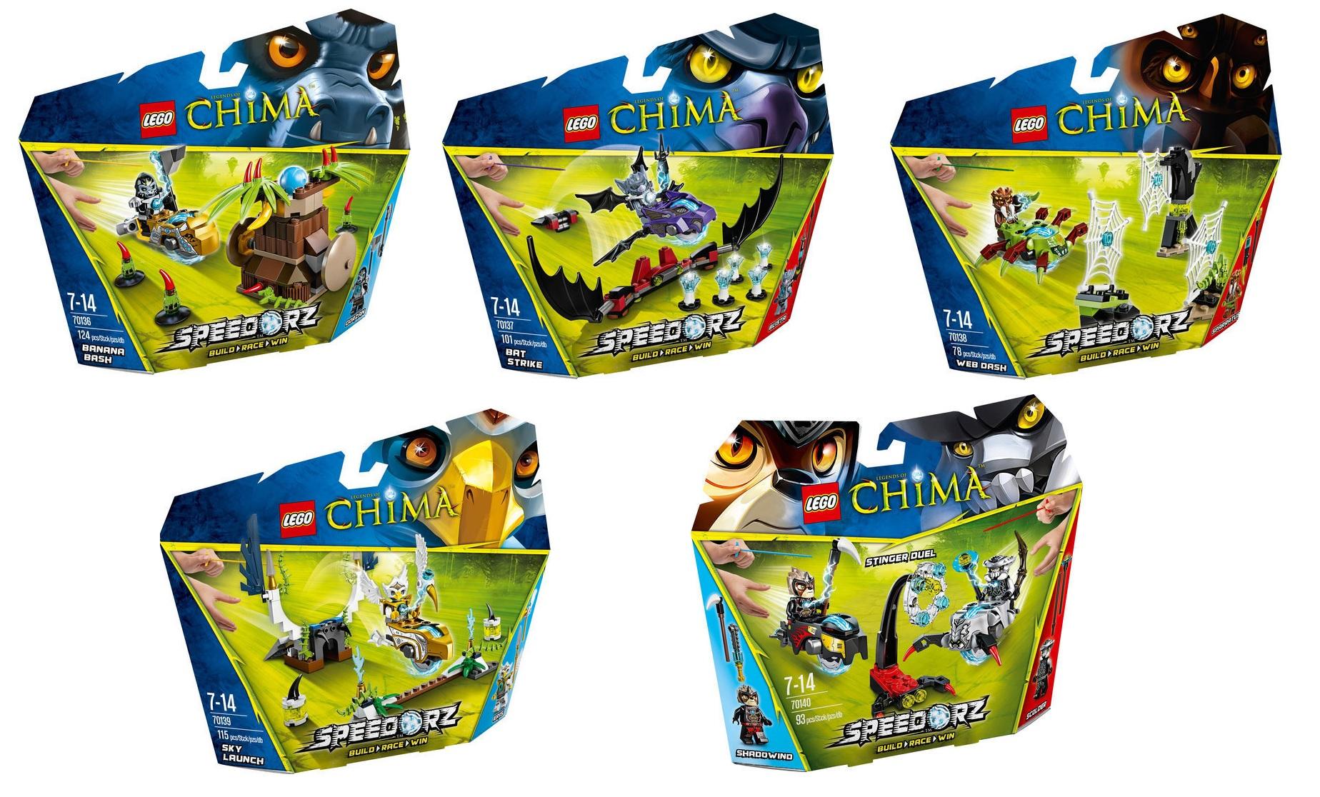 LEGENDS OF CHIMA! - Página 2 2014-LEGO-Chima-Speedorz-70136-70137-70138-70139-70140
