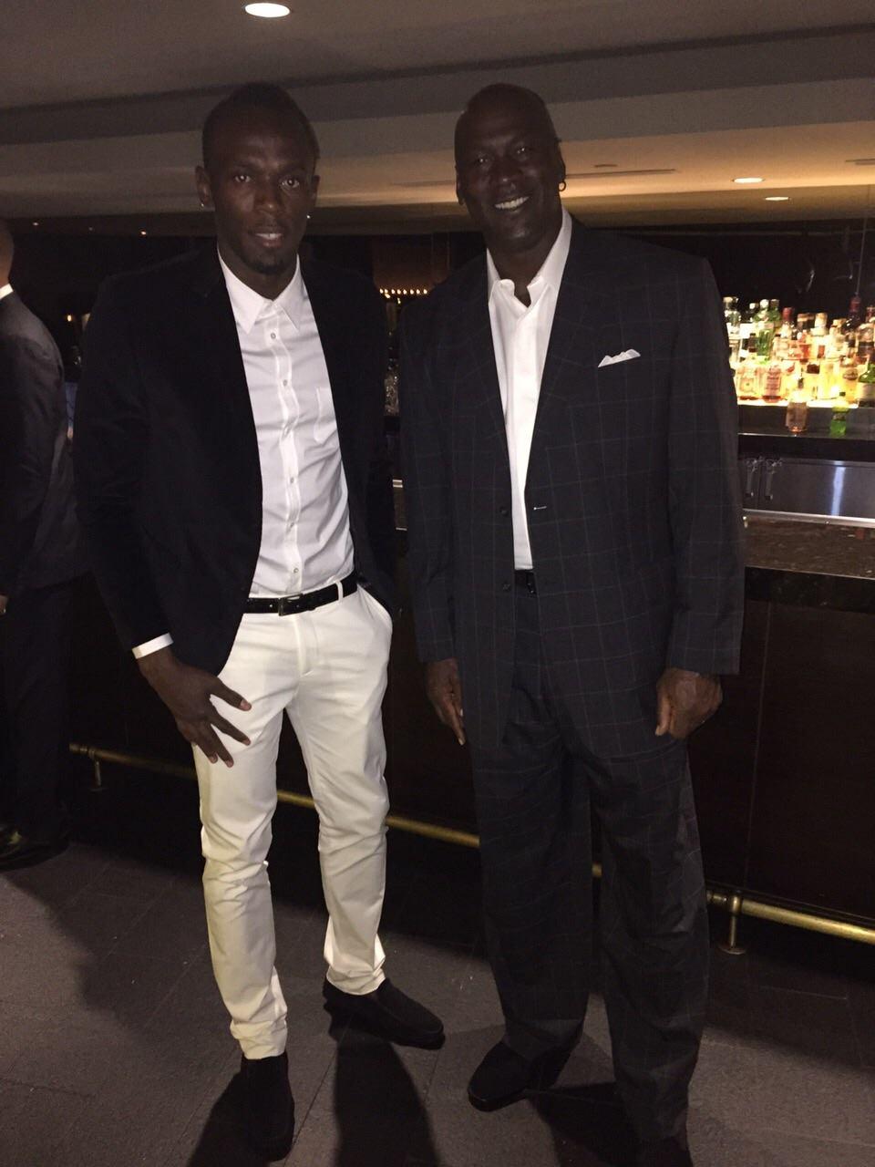 ¿Cuánto mide Michael Jordan? - Altura - Real height Bolt%20jordan