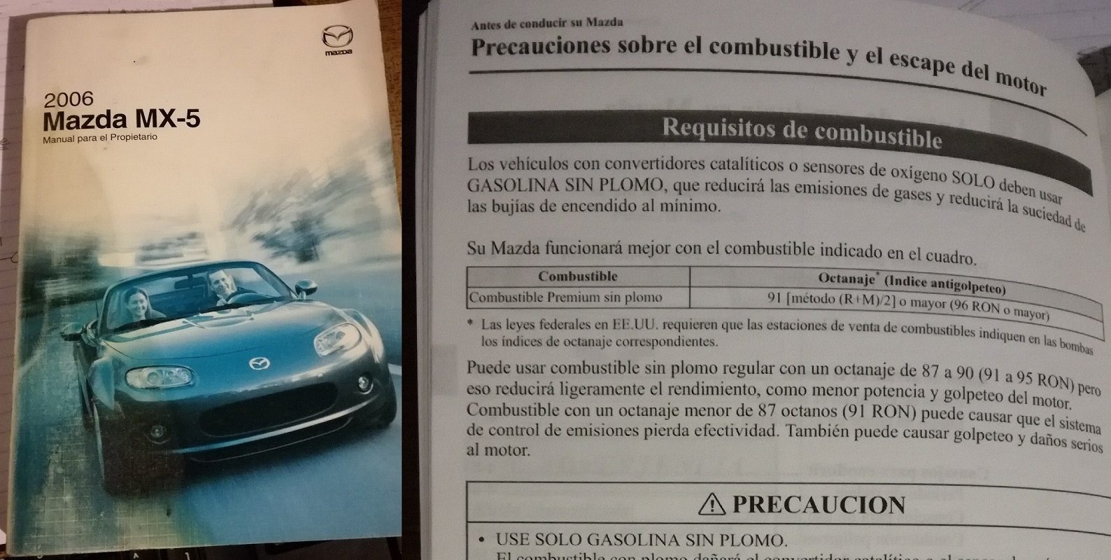 1.6T(200cv) gasolina 98 o de 95 - Página 2 Mazda