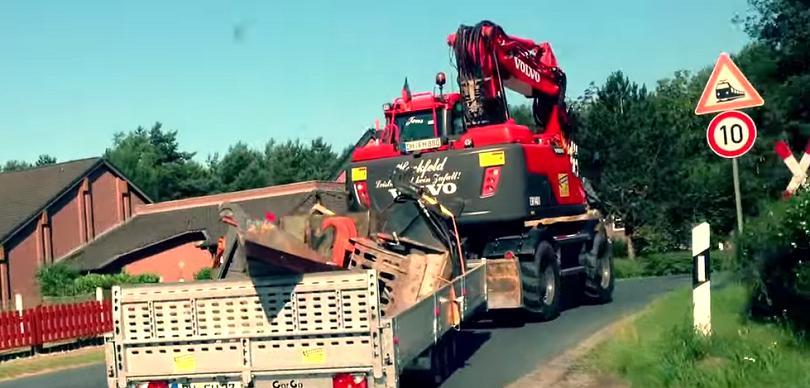 escavatori Mobile-excavator