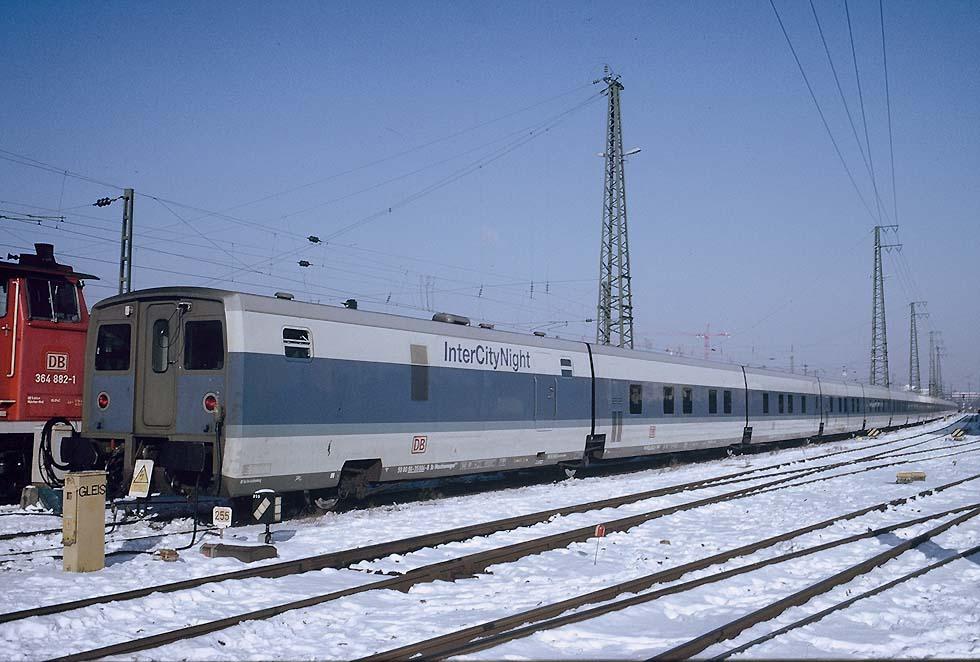 DB InterCityNight (TALGO VI) 513-07m