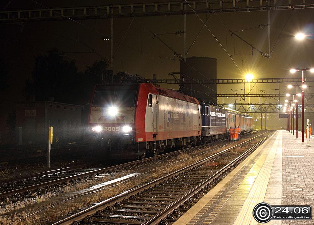Transfert de la 181 201 de Luxembourg vers l'Allemagne. 20132406_4005_181201_waaserbelleg
