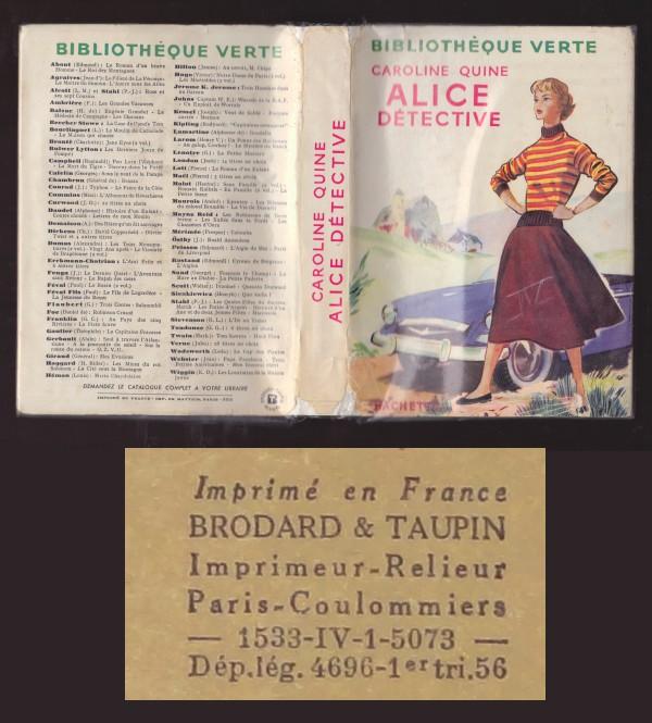 Les anciennes éditions de la série Alice. Alice_IV