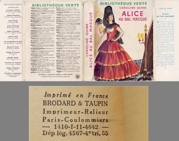Les anciennes éditions de la série Alice. Alice_bal_masque_I