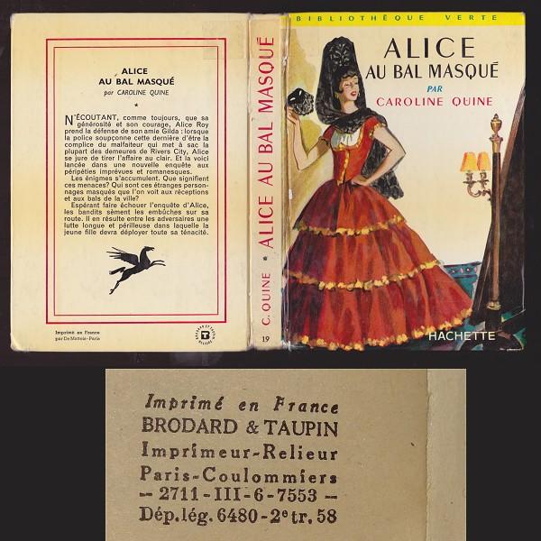 Les anciennes éditions de la série Alice. Alice_bal_masque_III