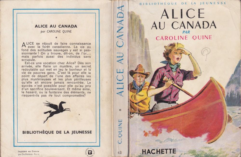 Les anciennes éditions de la série Alice. - Page 2 Canada1