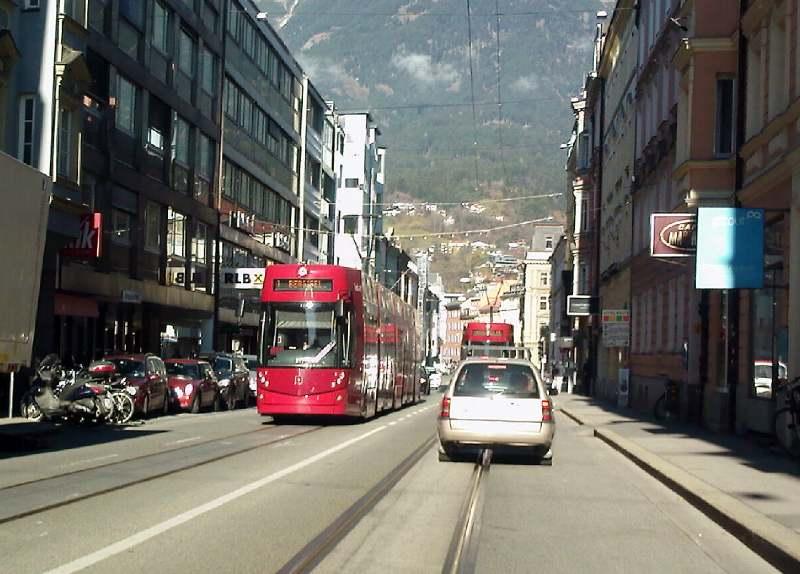 Tramvaj u Innsbruck-u INN1