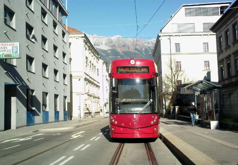 Tramvaj u Innsbruck-u INN2