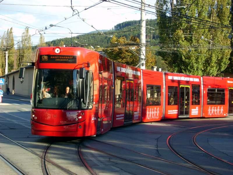 Tramvaj u Innsbruck-u INN3