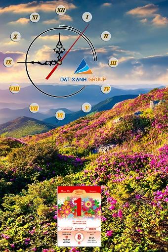 Ấn tượng với Quà Tết tranh đẹp treo tường phòng khách độc đáo Tranh-dong-ho-lich-tet-treo-tuong-hien-dai-lam-qua-tet-cuc-chat