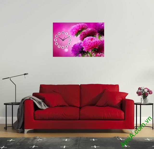 Ấn tượng với Quà Tết tranh đẹp treo tường phòng khách độc đáo Tranh-treo-tuong-phong-khach-cuc-tim-mot-tam-amia-294-02