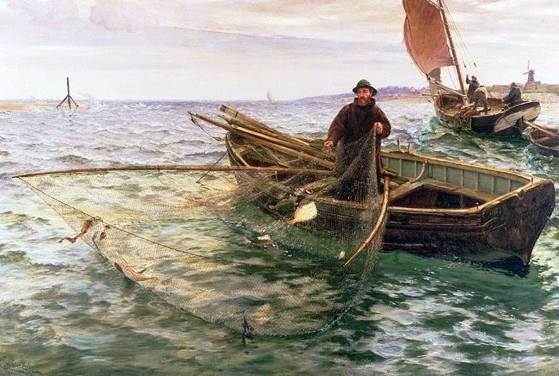 Omaž ribolovcu i ribolovu - Page 3 Charles_napier_hemy_-_the_fisherman_18881