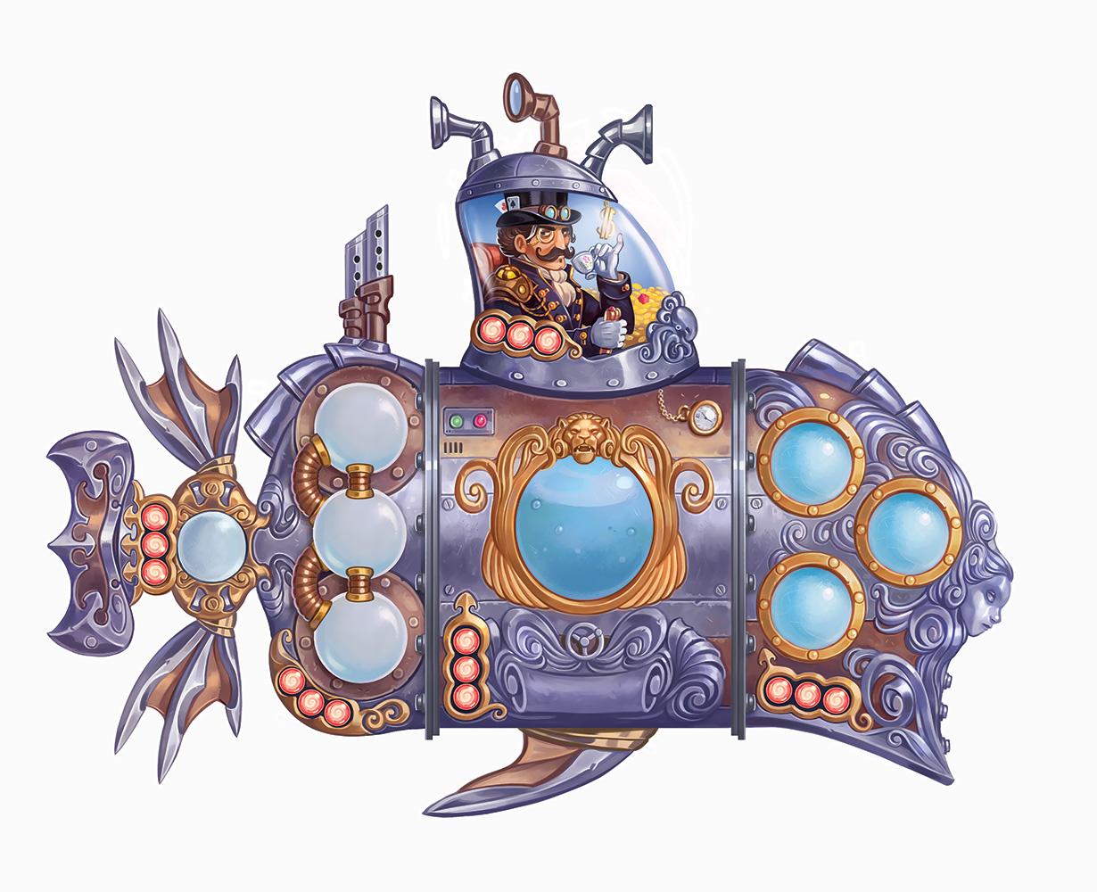 Mes pinceaux pour des meeples  Oceanos-jeremie-fleury-animaux-sous-marin-lord