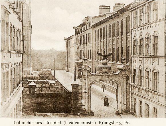 Russian Towns, Cities / Urban Development - Page 6 K%C3%B6nigsberg-L%C3%B6benichtsches-Hospital