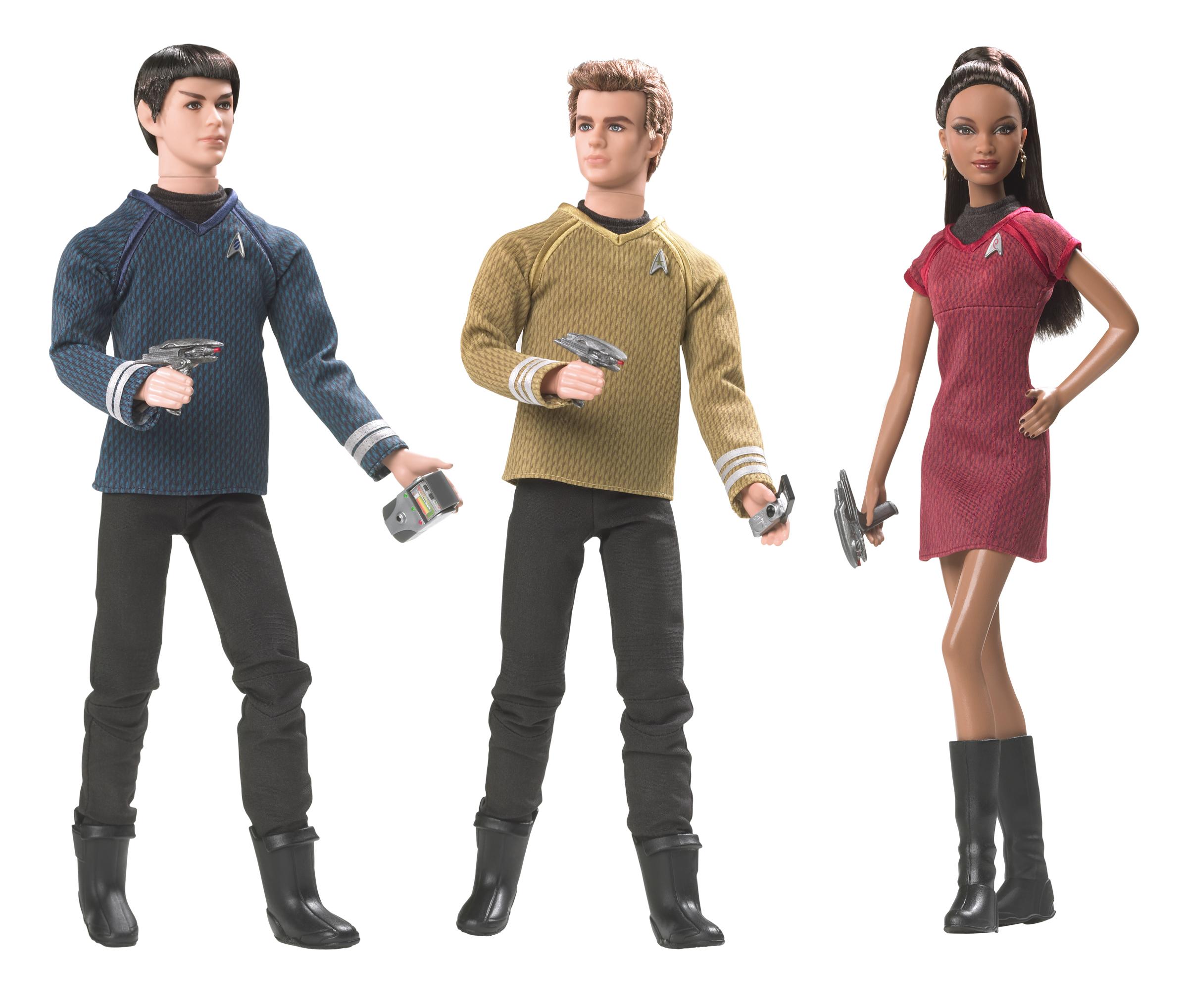 Mattel [poupées, figurines, jouets] StarTrekMattelCompositeShot
