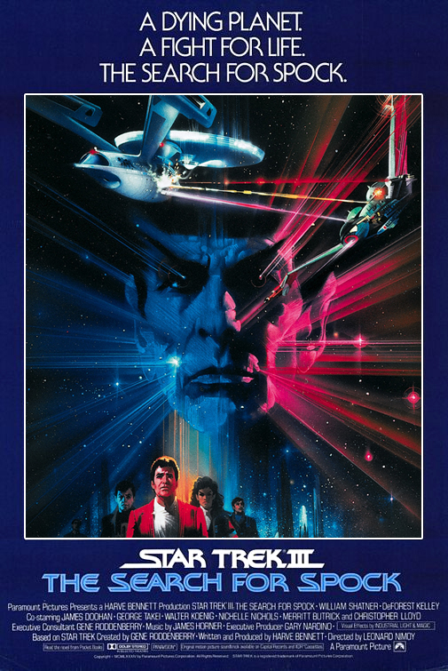 Klingons and Vulcans and Starships. Oh my! The Star Trek thread. Star-Trek-III-The-Search-For-Spock-poster