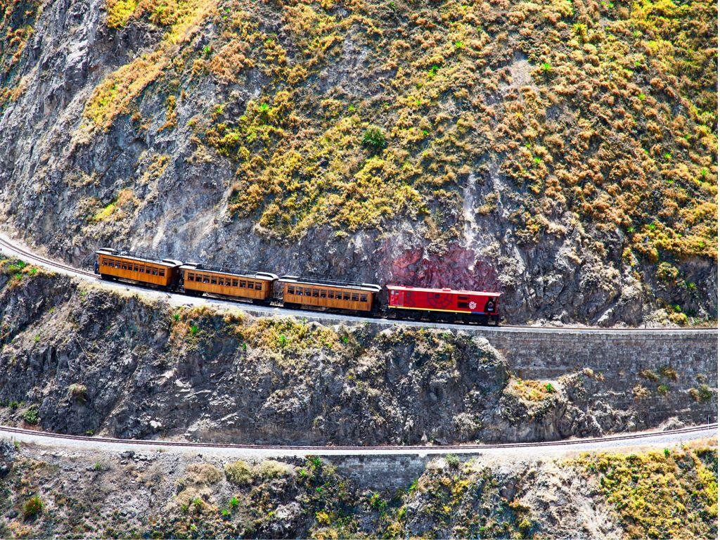 cordillère des Andes Tren-de-la-nariz-del-diablo