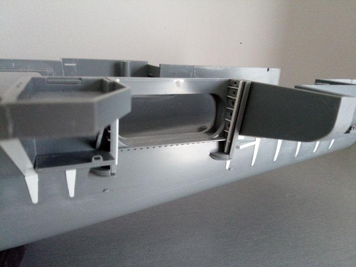 Enterprise Tamiya 1/350  PorteARB2