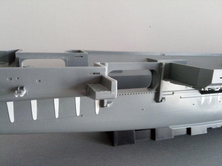 Enterprise Tamiya 1/350  PorteART2