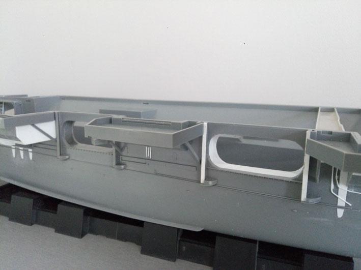 Enterprise Tamiya 1/350  PorteAVT2