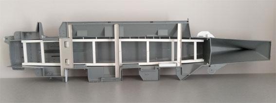 Enterprise Tamiya 1/350  Supports-internes
