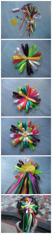 Резинки, заколки, украшения для волос Zakolka-svoimi-rukami