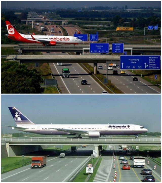 Misteri: Stranezze e curiosità - Pagina 4 Airplanes-over-highway