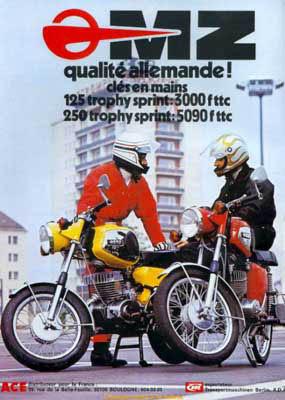 Trophy Sprint : késako ? 1976